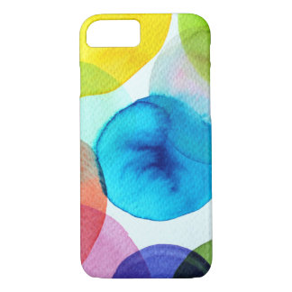 Colors dots on iphone cases