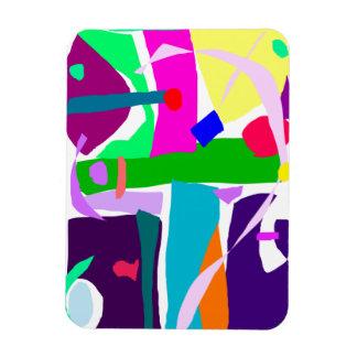 Colors Dots Stripes Curves Flair Vinyl Magnets