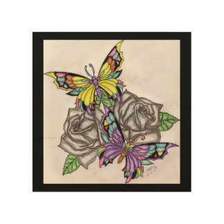 Colors In Bloom Wood Wall Decor