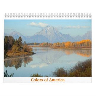 Colors of America Calendar