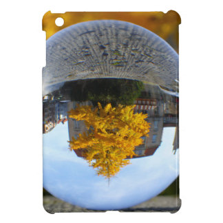 Colors of Autumn Gingko tree, crystal ball iPad Mini Covers