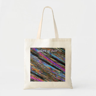 Colors of beer tote bag
