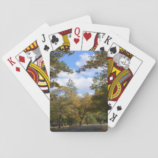 Colors of Fall... Playing Cards