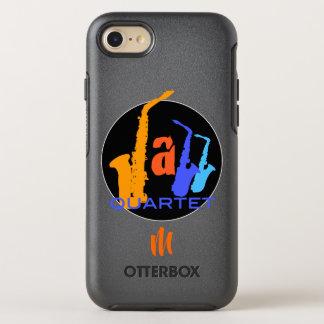 Colors of Jazz Quartet Monogram O iPhone Case