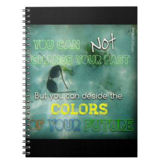 Colors of life notebook