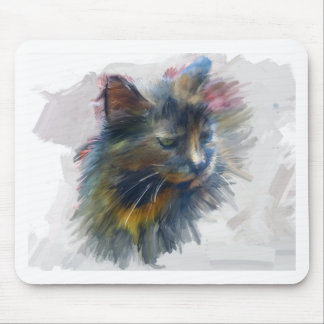 Colors of love mouse mat