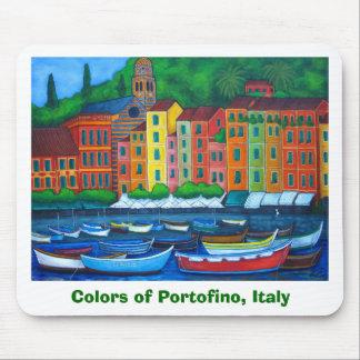 Colors of Portofino Mouse Pad