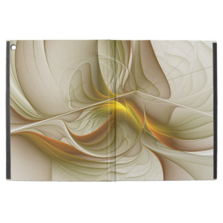 "Colors of Precious Metals, Abstract Fractal Art iPad Pro 12.9"" Case"
