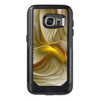 Colors of Precious Metals, Abstract Fractal Art OtterBox Samsung Galaxy S7 Case