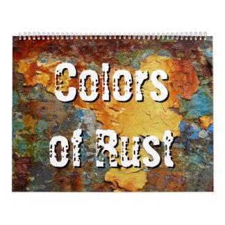 Colors of Rust 01.1, Rost-Art Calendar