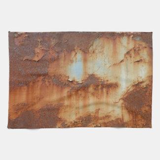 Colors of Rust_756, Rust-Art Tea Towel