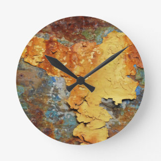 Colors OF Rust_894, Rust kind Round Clock