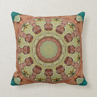 Colors of Rust, mandala-style rust Cushion