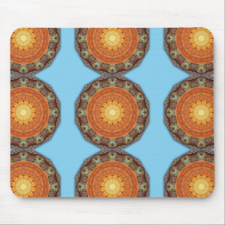 Colors of Rust / mandala-style-rust Mouse Pad