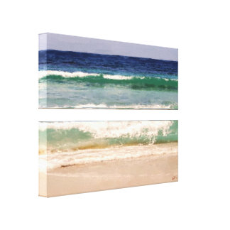 Colors of the Caribbean Wrapped Canvas