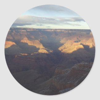 Colors of the Grand Canyon Classic Round Sticker