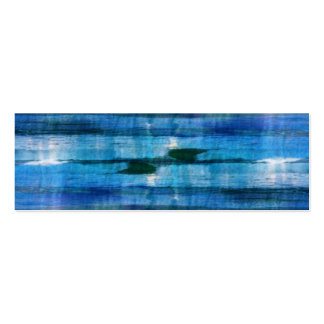 Colors of the ocean abstract texture pack of skinny business cards