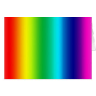 Colors of the Rainbow Greeting Card