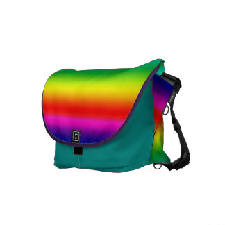 Colors of the Rainbow Commuter Bag