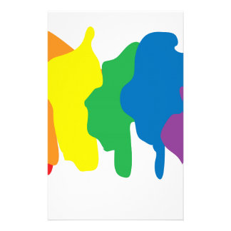 Colors of the Rainbow - Pride Stationery