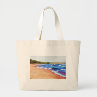 Colors of Water Large Tote Bag