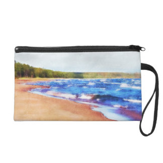 Colors of Water Wristlet Purse