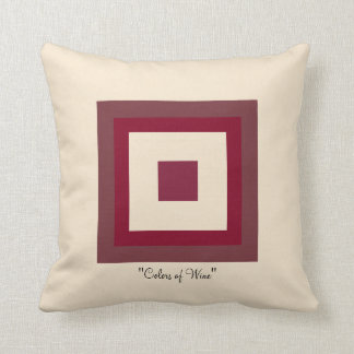 Colors of Wine Cushion