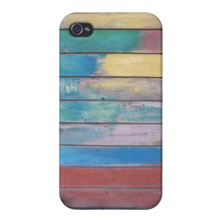Colors on wood paint job case for iPhone 4