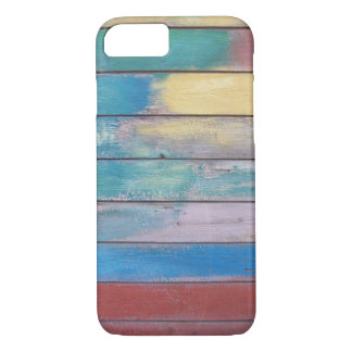 Colors on wood paint job case for iPhone 7