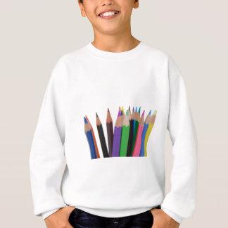 colors pencils sweatshirt