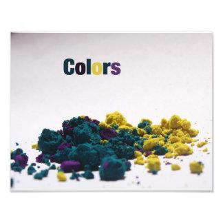 Colors Photo Print