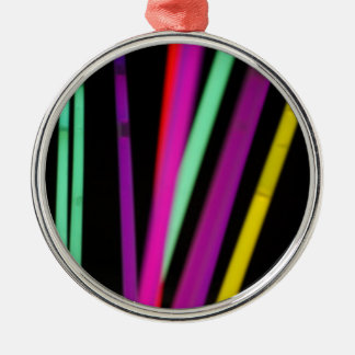 colorsticks Silver-Colored round decoration