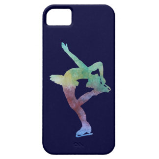 Colorwashed Figure Skater iPhone 5 Covers