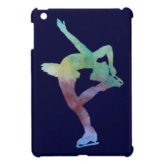 Colorwashed Figure Skater iPad Mini Cover
