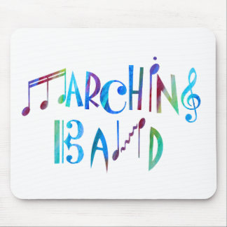 Colorwashed Marching Band Mouse Pads