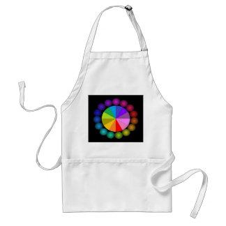 Colorwheel Apron Teaching Art Party Workshop 13 Standard Apron
