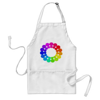 Colorwheel Apron Teaching Art Party Workshop 6