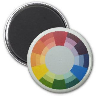 COLORWHEEL magnet (round)
