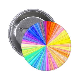 ColorWheel Sparkle - Enjoy n Share Joy 6 Cm Round Badge