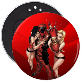 Colossal, 6 Inch Round Button DP Rapper