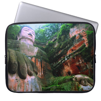 Colossal Le Shan Buddha Laptop Sleeves