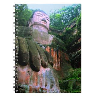 Colossal Le Shan Buddha Notebooks
