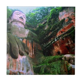 Colossal Le Shan Buddha Ceramic Tiles
