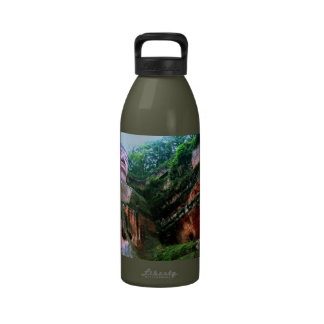 Colossal Le Shan Buddha Reusable Water Bottle