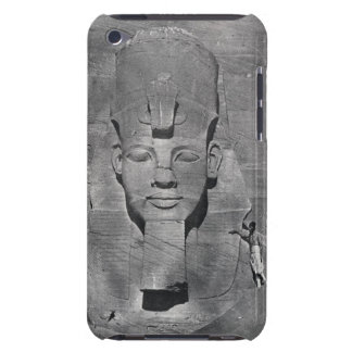 Colossal statue of Ramesses II at Abu Simbel, 1850 iPod Touch Cover