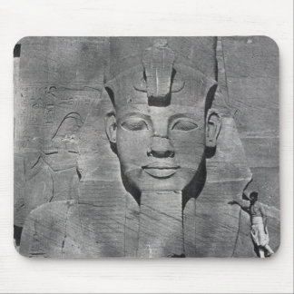 Colossal statue of Ramesses II at Abu Simbel, 1850 Mouse Mat