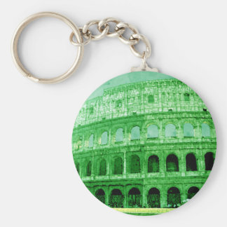 Colosseo Basic Round Button Key Ring