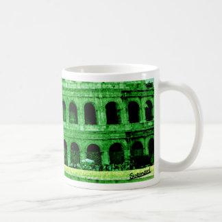 Colosseo Basic White Mug