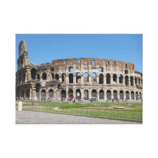 Colosseo in Rome キャンバスプリント