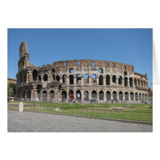 Colosseo in Rome カード